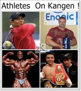 Athletes Drinking Kangen Water
